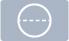 Polypropylen-Etiketten, transparent, permanent klebend, mittig perforiert, Ø 25 mm, 3 Zoll (76,2 mm) Rollenkern, 2000 Etiketten, 1 Rolle(n)