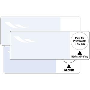 Cable Base Labels - Different imprints