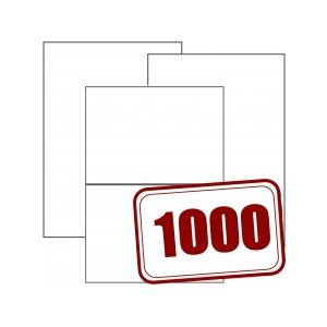 Bogenetiketten 1000 Blatt Packung