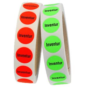 """Office Label: """"Inventur"""""""