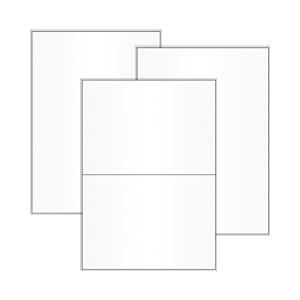 Papier-Etiketten auf DIN A5 / A6 Bogen