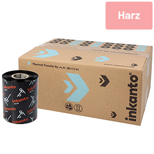 Resin Ribbon, Armor AXR 7+, on 12.7 mm or 25,4 mm role core, ink side out, bulk package