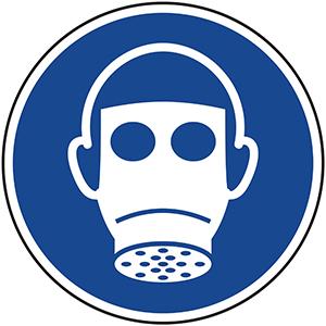Mandatory Sign: Wear Respirator