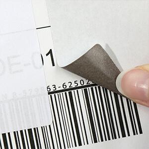 Blickdichte Korrektur Etiketten