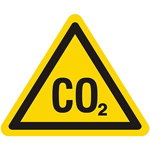 Warnung vor CO2 - Erstickungsgefahr