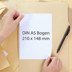DIN A5 Etiketten