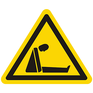 Warnung vor Ersticken durch Sauerstoffmangel