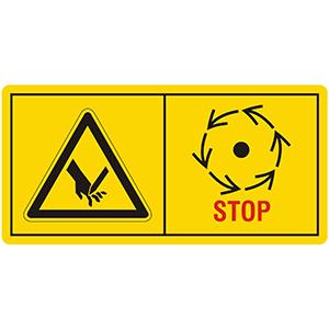 Machine Warning labels