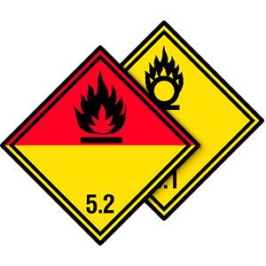 Gefahrgutetiketten Klasse 5