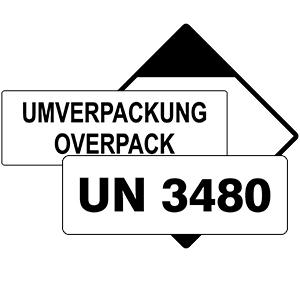 UN Etiketten & LQ Aufkleber