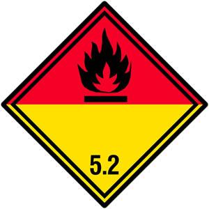 Gefahrgutetiketten Klasse 5.2