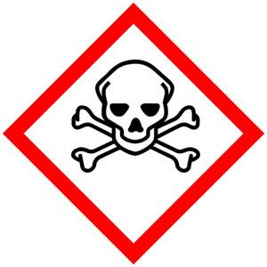 GHS-Symbole: Akute Toxizität