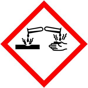 GHS-Symbole: Hautätzend