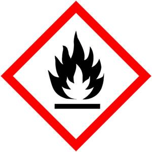 GHS Symbole: Entzündbare Stoffe