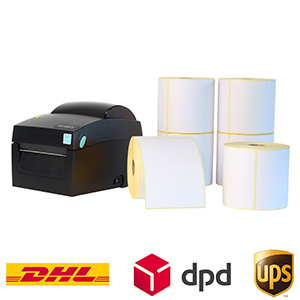 Etikettendrucker-Sets