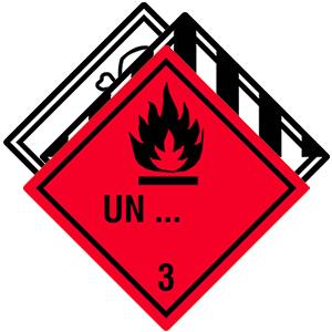 Individuelle Gefahrgutetiketten