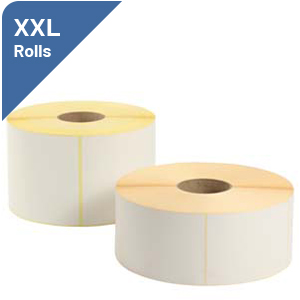 Labels on Large Rolls
