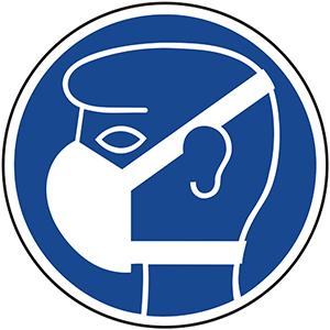 Mandatory Sign: Wear Dust Mask