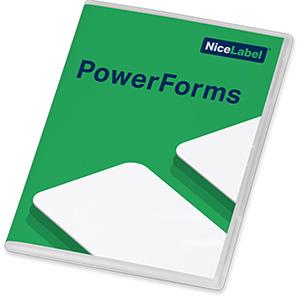 NiceLabel 2019 PowerForms Etikettensoftware