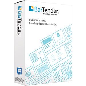 Seagull BarTender Etikettensoftware Professional 2021