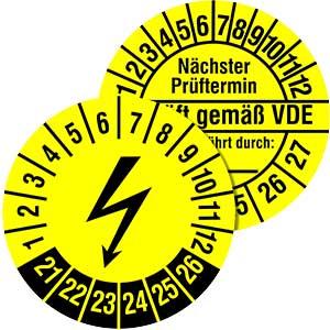Elektro Prüfplaketten