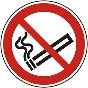 Prohibition Sign: No Smoking