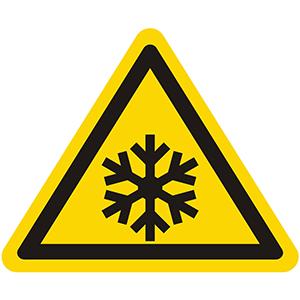 Warnung vor Kälte