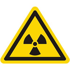 Warnung vor radioaktiven Stoffen