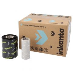 """Armor Armor AWR1, wax ribbon 80 mm x 300 m, 1"""" core diameter, ink side out, 10 roll(s)"""