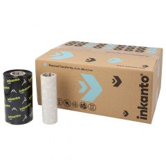"""Armor Armor AWR1, wax ribbon 110 mm x 300 m, 1"""" core diameter, ink side out, 10 roll(s)"""