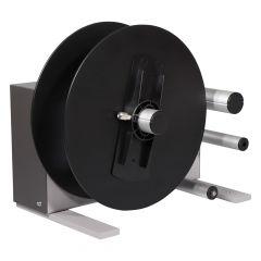 CAB external rewinder, ER6, material width max. 180 mm, roll outside-Ø: max. 300 mm