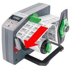 Etikettenspender, HS120+, mit Display, Etikettenbreite min.: 20 mm, Etikettenbreite max.: 120 mm
