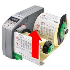 Etikettenspender, VS180+, mit Display, Etikettenbreite min.: 80 mm, Etikettenbreite max.: 180 mm