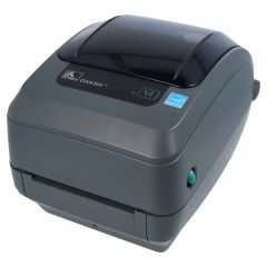 Zebra GX430t, 300 dpi desktop printer, model with tear-off edge (GX43-102420-000)
