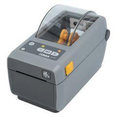 Zebra ZD410, 203 dpi Desktopdrucker, Modell mit Abreißkante (ZD41022-D0E000EZ)