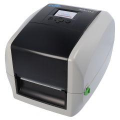 CAB MACH2, 300 dpi Desktopdrucker, LED Anzeige, Modell mit Abreißkante (5430004)