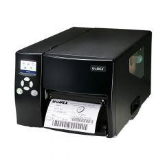 Godex EZ-6350i, 300 dpi Etikettendrucker (Industrie), Farbiges TFT Display, Modell mit Abreißkante (GP-EZ-6350I-E)