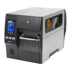 Zebra ZT411, 203 dpi Etikettendrucker (Industrie), Farb-Touchscreen, Modell mit Abreißkante (ZT41142-T0EC000Z)