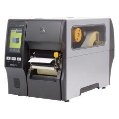 Zebra ZT411, 203 dpi Etikettendrucker (Industrie), Farb-Touchscreen, Modell mit Spender, Lineraufwickler (ZT41142-T3E0000Z)