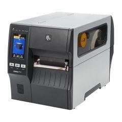 Zebra ZT411, 300 dpi Etikettendrucker (Industrie), Farb-Touchscreen, Modell mit Spender (ZT41143-T1E0000Z)