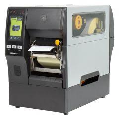 Zebra ZT411, 600 dpi Etikettendrucker (Industrie), Farb-Touchscreen, Modell mit int. Etikettenaufwickler und Peeler (ZT41146-T4E0000Z)