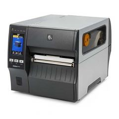 Zebra ZT421, 300 dpi Etikettendrucker (Industrie), Farb-Touchscreen, Modell mit Spender, Lineraufwickler (ZT42163-T4E0000Z)