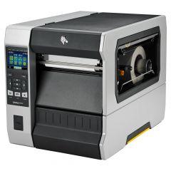 Zebra ZT620, 203 dpi Etikettendrucker (Industrie), LCD Display, Modell mit Spender, Lineraufwickler (ZT62062-T2E0100Z)