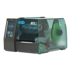 cab EOS2 mobile, 300 dpi desktop label printer, base model with tear-off edge and battery attachment (without battery) (5978202.600)