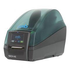 CAB MACH4.3S/P, 300 dpi Etikettendrucker (Industrie), LCD Touchscreen, Modell mit Spender (5984635)
