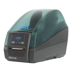 cab MACH4S/P, 600 dpi label printers (industrial), LCD touch-screen, model with dispenser (5984637)