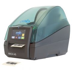 cab MACH4S, 600 dpi label printers (industrial), LCD touch-screen, model with cutter (5984641)