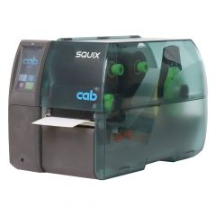 CAB SQUIX 4M, 600 dpi Etikettendrucker (Industrie), LCD Touchscreen, Modell mit Abreißkante (5977011)