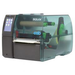 CAB SQUIX 6.3, 300 dpi Etikettendrucker (Industrie), Modell mit Abreißkante (5977035)