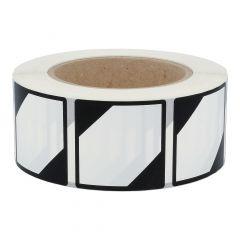 Gefahrgutetiketten, LQ, Polyethylen, weiß-schwarz, 50 x 50 mm, 1000 Etiketten